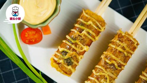 不去日本,在家用筷子就能做出风靡动漫的美食——大阪烧