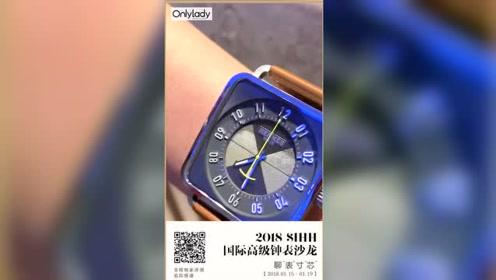 OnlyLady X 2018SIHH 爱马仕:罕见的正方形腕表