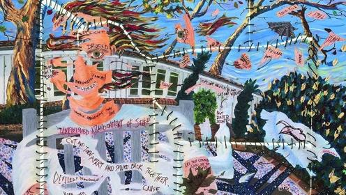一个被演员的耽误的画家,金·凯瑞:《用色彩来点亮我的人生》