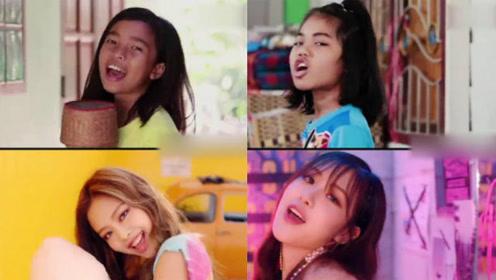 逆天了!泰国小学生神同步模仿韩国女团,很有巨星的feel了!