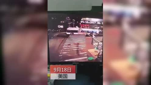大巴转弯时被失控旅游大巴猛撞 3死16伤