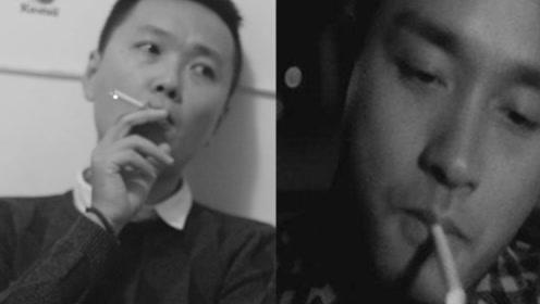 小伙模仿哥哥抽烟,结果杯具了
