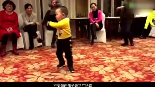 广场舞的未来!3岁小孩跳广场舞,让老大妈佩服