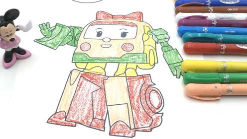 米妮制作超漂亮彩虹蝴蝶橡皮泥过家家玩具