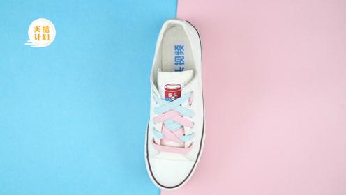 春天是小白鞋的天下!教你4种高颜值花式系鞋带法