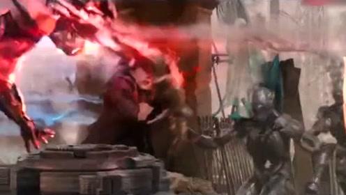 复仇者联盟这段每秒都是以万元计费的,特效让你燃到爆