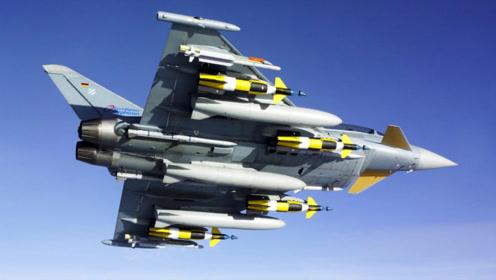 """不怕雾霾!德军""""台风""""战机在美投放""""铺路IV""""复合制导炸弹"""