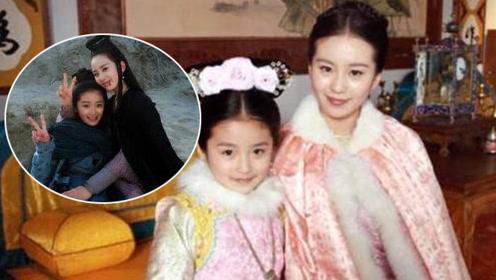 7年前她管刘诗诗叫姑姑,7年后两人成了姐妹,她越来越漂亮了!