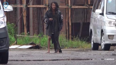 辛酸!台风天最可怜的男人