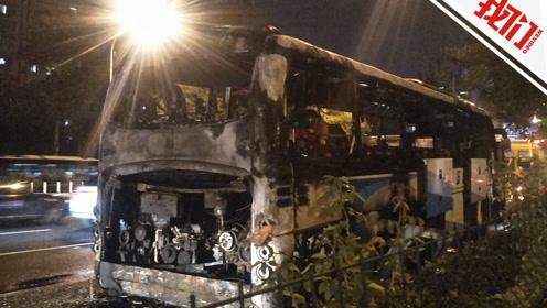 直播回看:北京东四十条附近 一机场大巴着火 已扑灭