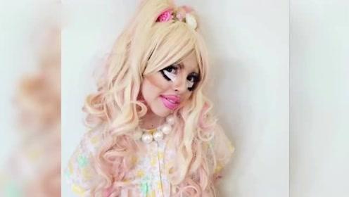 加拿大11岁女生迷恋变装 每次花4小时化妆