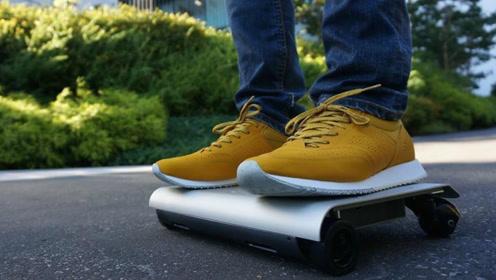 日本发明便捷代步工具,踩上去就能跑,放入包包完全没问题