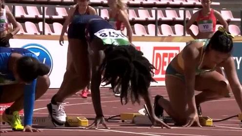 女子国际田径,出赛的个个好身材