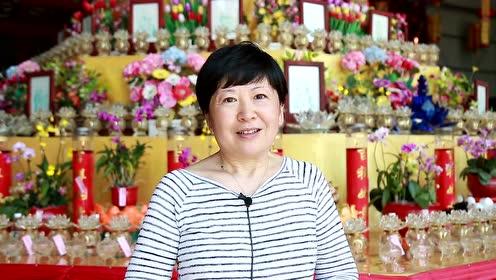 居士采访:佛母寺上堂大斋给我和家人带来福运
