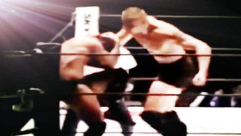 两位日本拳手作死挑战西洋巨人,结局太惨遭暴虐KO!