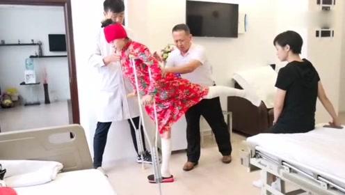 """杨丽萍复健视频曝光 健步如飞""""快""""得连医生都惊呆了"""