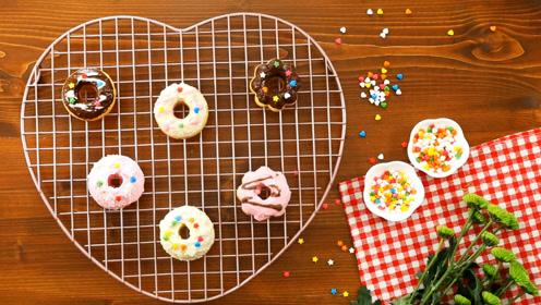 彩虹甜甜圈,做一场彩虹般的梦