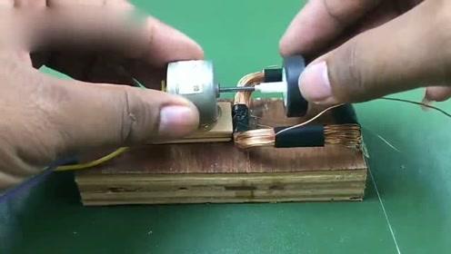 国外牛人自制发电机,不烧油不烧电,就可以发电怎么做到的