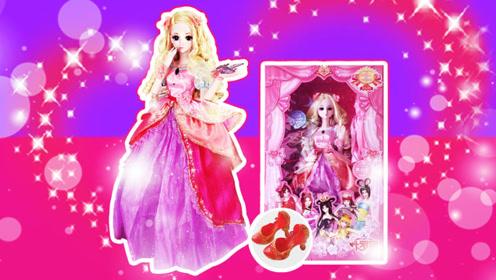 叶罗丽可爱灵公主超大芭比娃娃 精灵梦叶罗丽玩具开箱