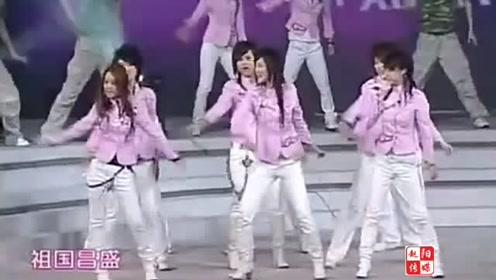 2006年超级女声十强的开场秀《你知不知道》