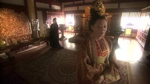 王母一个人自言自语,玉帝二公主说了一句话,王母笑了