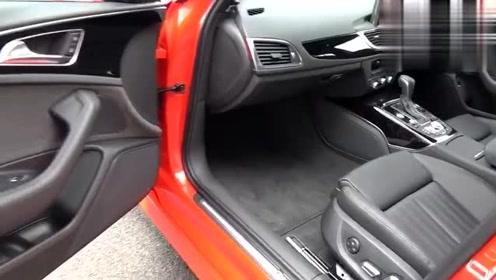 红色更加动感帅气,实拍展示国外版奥迪A6