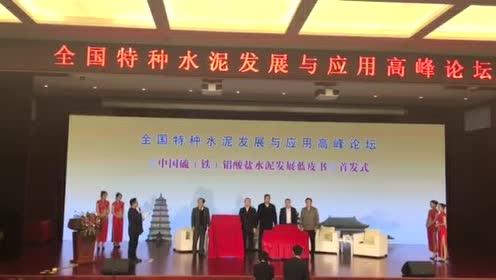 《中国硫(铁)铝酸盐水泥发展蓝皮书》 新书首发式
