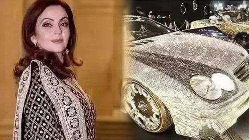 亚洲首富女儿结婚斥资1.3亿  600多名仆人钻石奔驰