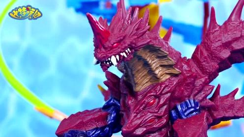 《比特玩具》捷德奥特曼惩罚怪兽