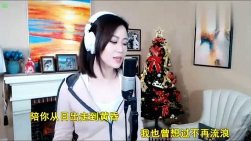 漂亮小姐姐开口唱《情人迷》,情意绵绵,唱的太好听了!