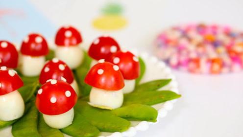 蘑菇一家人,真实身份是鹌鹑蛋?