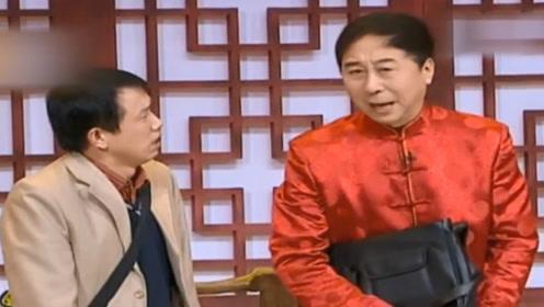冯巩,潘斌龙小品《返乡》两人相互吹牛,太搞笑了
