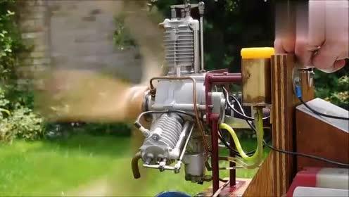 不常见的三缸星型发动机,性能如何?启动让你感受下