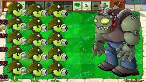 我的世界植物大战僵尸30 宝石迷阵
