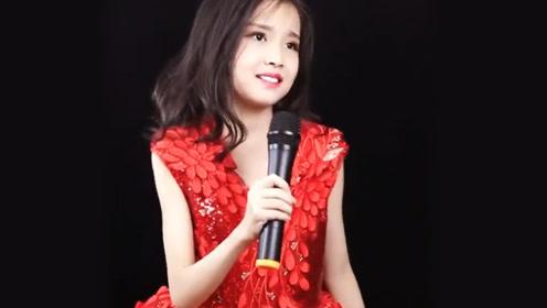 9岁女孩撞脸周慧敏唱《光年之外》一开口成熟嗓音惊艳了!