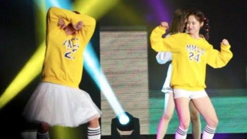 Running Man巡演现场宋智孝跳《Bboom Bboom》蹦迪舞,懵智太可爱啦!