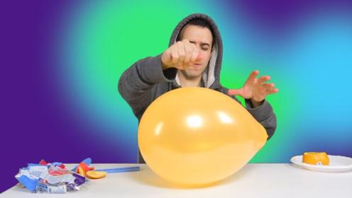 为什么吃完橙子不能碰气球?说出来你可能不信