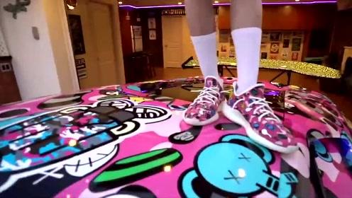 土豪为了一双鞋而定制的兰博基尼,上路的那一刻简直太帅气了!