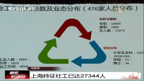 上海持证社工已达27344人
