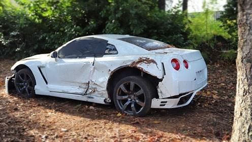 小伙花二十万收购一辆GTR,本以为被骗了,打开车门目瞪口呆!