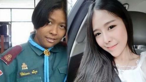 泰国黑妹遭男友抛弃 瘦身成功成巴掌脸美女惊艳网友