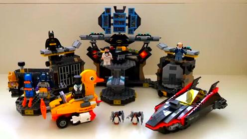 乐高蝙蝠侠系列!蝙蝠侠大战三代战衣,各种飞行工具都集齐了