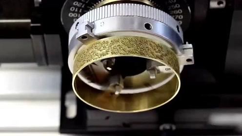 科技探索:激光超精细雕刻,我以前可是没见过!