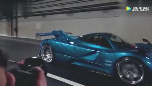 法拉利458进隧道,这才叫跑车声浪,听着就是俩字:舒服!