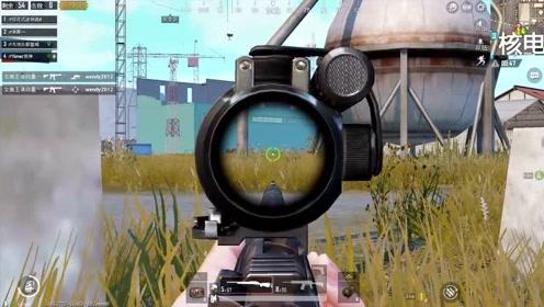 刺激战场:2倍镜M24,移动爆头,老弟就问你懵不懵?