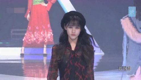中国高颜值美女模特走秀,看到第三个小姐姐,瞬间感觉恋爱了!