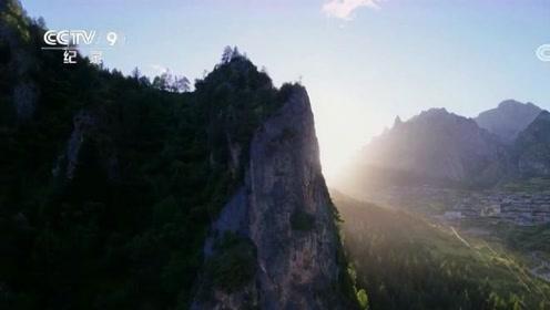 航拍中国:扎尕那一生漂泊,此地却满足对伊甸园的所有想象!