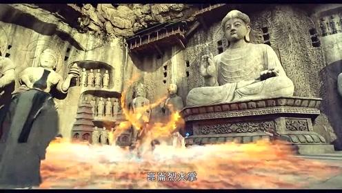 神算子收到御神机,召集武林五大门派,齐心协力打开御神机!