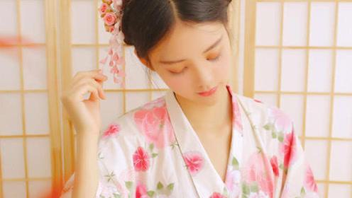日本女人穿和服为何不穿内衣内裤,美女亲自示范,终于明白了!