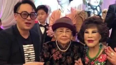 95岁梅艳芳母亲非要补办91岁大寿 没钱就去法院索要遗产